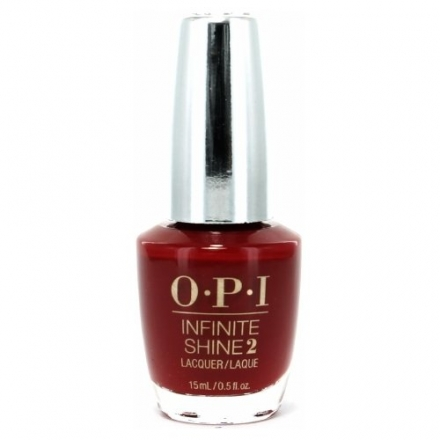 OPI Infinite Shine Nail Lacquer, Can't Be Beet, 0.5 Ounce