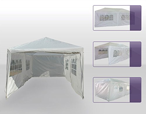 Last Two Days for Cyber Monday Sales! Christmas Gift! Strong 10 X 20 White Wedding Party Tent Gazebo