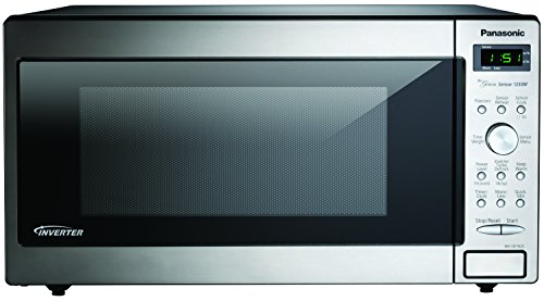 Panasonic NN-SD762S Stainless 1250W 1.6 Cu. Ft. Countertop/Built-in Microwave with Inverter Technolo