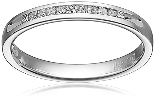14k Gold Princess-Cut Diamond Anniversary Band (1/4 cttw, H-I Color, I1-I2 Clarity)