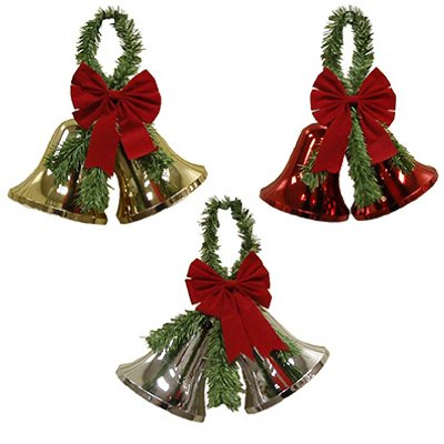 XMAS Bell Decoration, Pack of 12