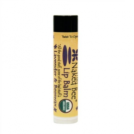 Lavender and Beeswax .15 oz Lip Balm USDA Organic