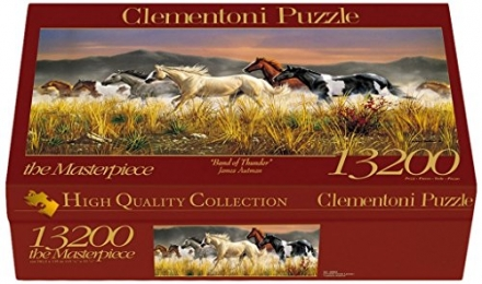 Clementoni Jigsaw Puzzle 13200 Band Of Thunder