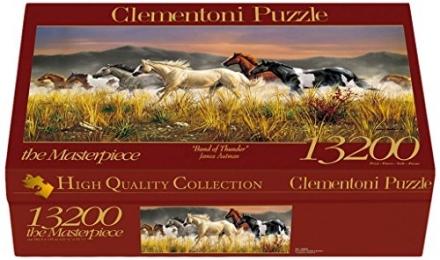 Clementoni Jigsaw Puzzle 13200 Band Of Thunder