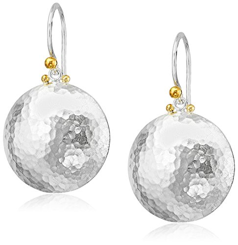 "GURHAN ""Lentil"" Large Round Drop Earrings"