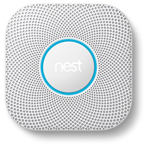 Nest Protect 2nd Gen Smoke + Carbon Monoxide Alarm, Battery