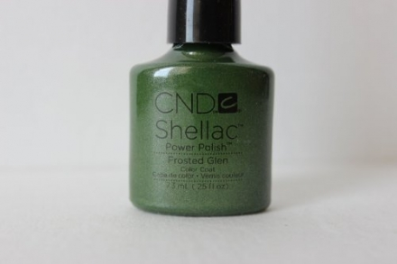 CND Shellac& Additives Charmed Limited Collection Frost Glen Color 0.25oz