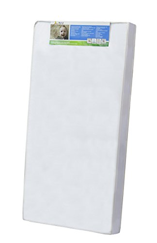 Dream On Me 4″ Full Size Foam Crib and Toddler Bed Mattress