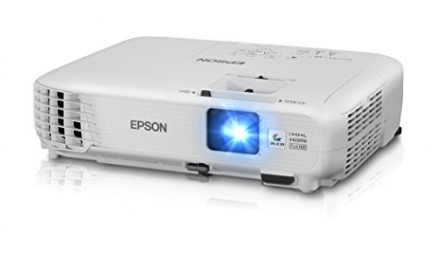 Epson Home Cinema 1040 1080p, 2x HDMI (1 MHL), 3LCD, 3000 Lumens Color and White Brightness Home The