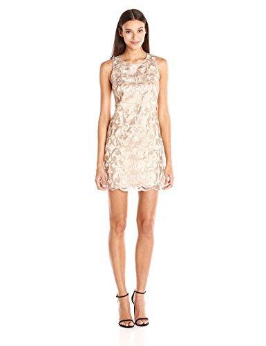 Vince Camuto Women's Sleeveless Lace Shift Dress