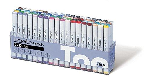 Copic Sketch Markers 72pc Set, Set B
