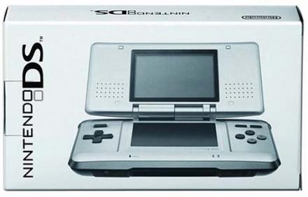 Nintendo DS Platinum Silver [maker production end]