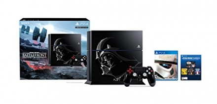 PlayStation 4 500GB Console – Star Wars Battlefront Limited Edition Bundle