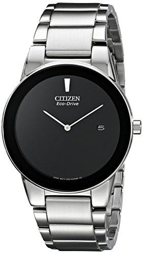 Citizen Men's AU1060-51E Axiom Analog Display Japanese Quartz Silver Watch