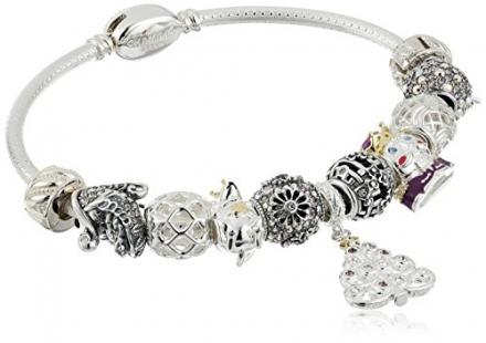 "Chamilia ""Holiday"" Nutcracker Premium Gift Set Charm Bracelet"