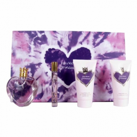 Vera Wang Fragrances Princess 4 Piece Gift Set for Women