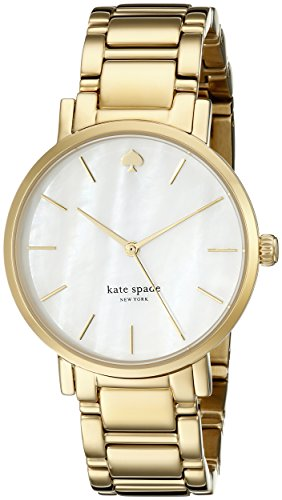 kate spade New York Women's 1YRU0002 Gramercy Gold-Tone Stanless Steel Watch