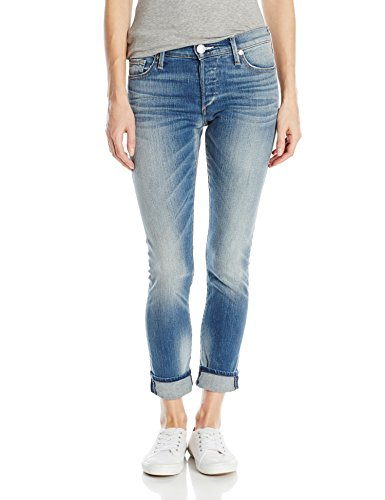 True Religion Women's Liv Low Rise Slim Boyfriend