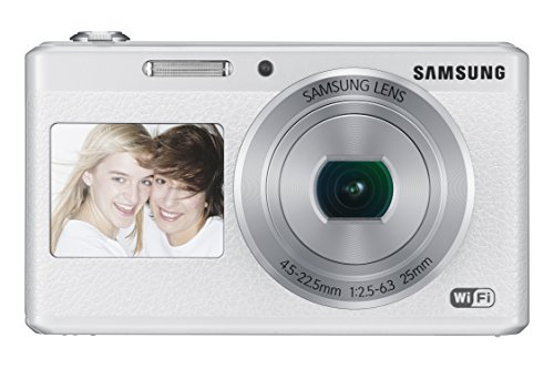Samsung Electronics EC-DV180FBPWUS Dual-View Wireless Smart Camera (White)