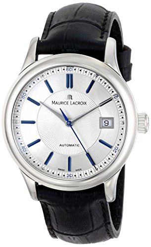 Maurice Lacroix Men's LC6027-SS001-133 Les Classiques Analog Display Swiss Automatic Black Watch