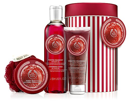 The Body Shop Skin Care Set, Frosted Cranberry