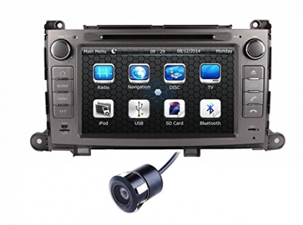 Crusade 8 Inch for Toyota Sienna 2011 2012 2013 2014 / XL30 2013 2014 2DIN in Dash HD Touch Screen C