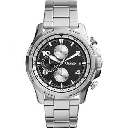 Fossil Dean Chronograph Stainless Steel Watch