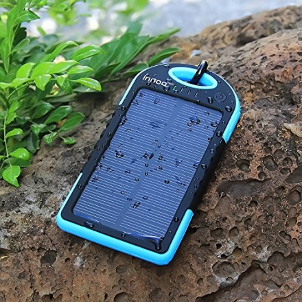 Solar Charger 5000mAh Innoo Tech Solar Power Bank Dual USB Port Portable Charger,Solar Battery Charg