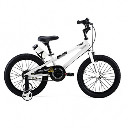 RoyalBaby BMX Freestyle Kids Bikes 18 inch, in 5 colors, Boy's Bikes and Girl's Bikes as Gifts