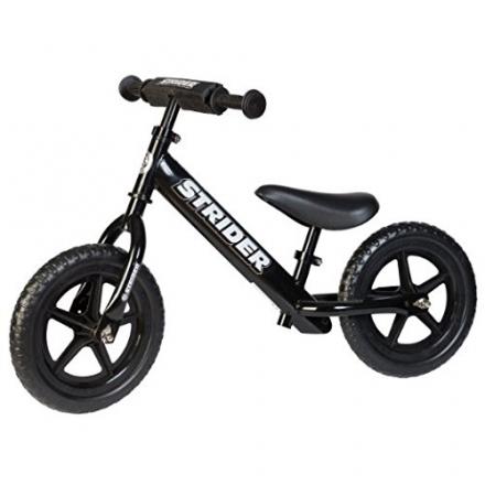 Strider – Sport No Pedal Balance Bike – 2015 Black