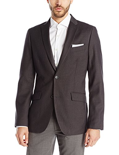 Perry Ellis Men's Slim Fit Pattern Jacket