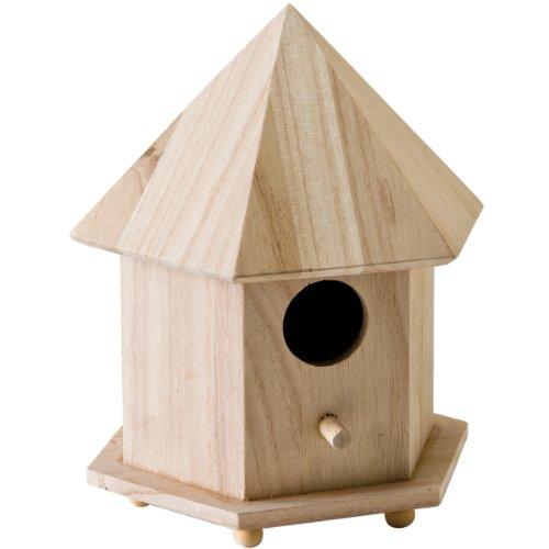 Plaid 12740 Gazebo Birdhouse Wood Surface for Crafting
