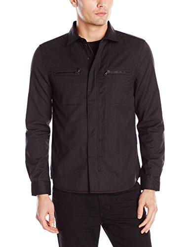 Kenneth Cole Men's Wool Shirt Jacket
