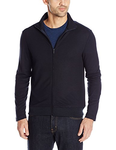 Kenneth Cole Men's Long Sleeve Full Zip Mock