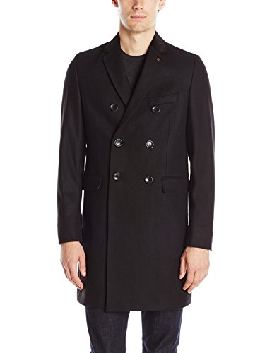 Ben Sherman Men's Tailored Overcoat