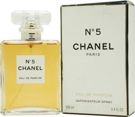 C HANEL No.5 Eau De Perfume Luxury Spray 3.4 OZ New With Box