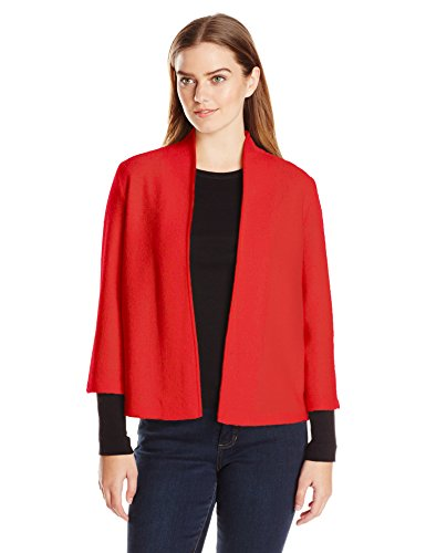 Anne Klein Women's Open Front Wool Cardigan
