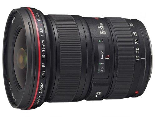 Canon EF 16-35mm f/2.8L ll USM Zoom Lens for Canon EF Cameras