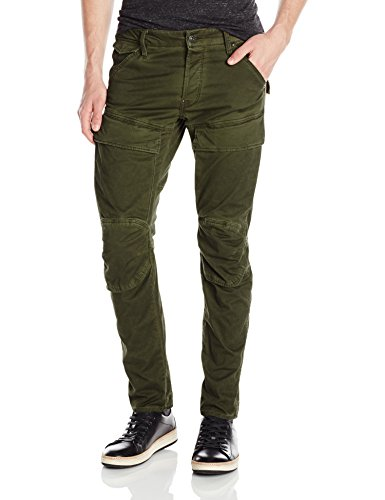 G-Star Raw Men's Air Defence 5620 3D Slim Fit Pant In Asfalt Arsenic