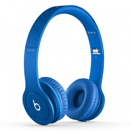 Beats Solo HD On-Ear Headphone (Discontinued by Manufacturer – Blue)