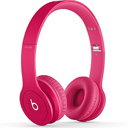Beats by Dr. Dre SOLOHD | Solo HD On-Ear Headphone Drenched (Magenta 900-00174-01)