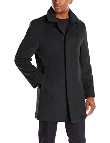 Hart Schaffner Marx Men's Douglas Cashmere Blend Top Coat