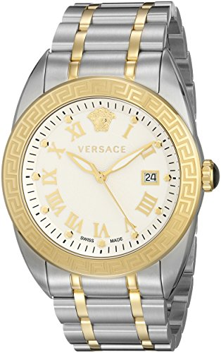Versace Men's VFE140015 V-Sport Two-Tone Stainless Steel Watch