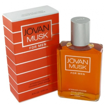 Musk for Men After Shave Cologne by Jovan, 8 Fluid Ounce