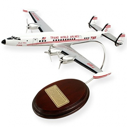 Mastercraft Collection L-1049 TWA Wood Model Aircraft Model