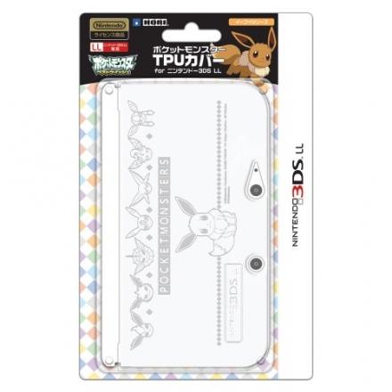 Pokemon 3DS XL TPU Silicone Cover EEVEE Umbreon Espeon Flareon Vaporeon Jolteon Case Protector Clear