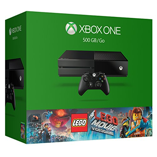 Xbox One 500GB Console – The LEGO Movie Bundle