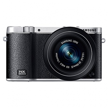 Samsung NX3000 Wireless Smart 20.3MP Mirrorless Digital Camera with 20-50mm Compact Zoom and Flash