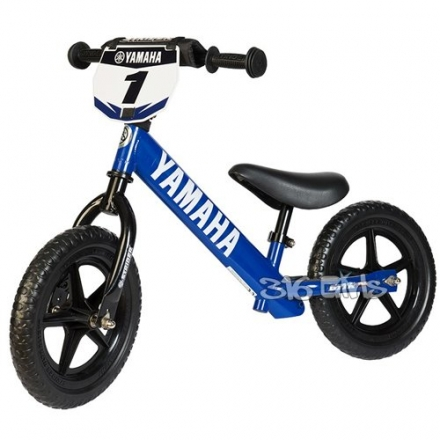 Strider – 12 Sport Balance Bike, Teach Kids to Ride – Yamaha, Blue