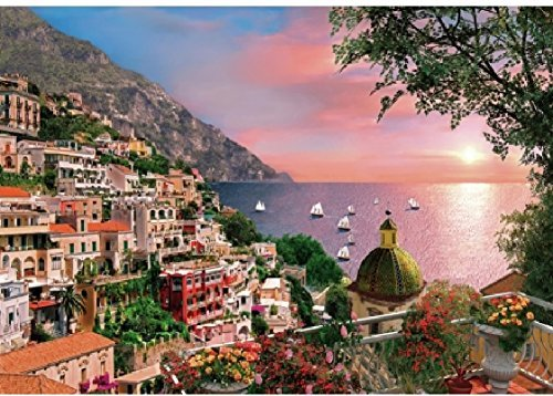 Wentworth Positano 500 Piece Wooden Jigsaw Puzzle